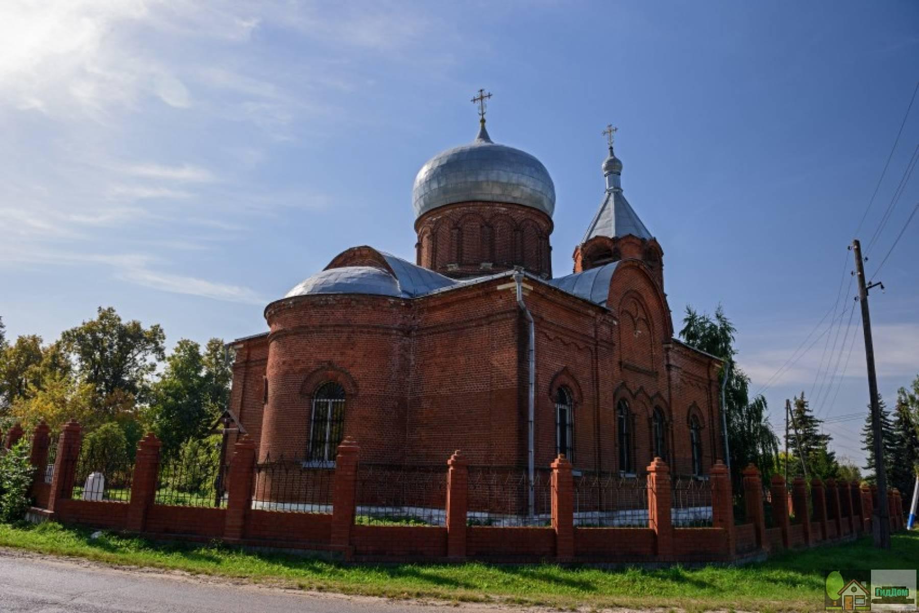 Церковь Успения Пресвятой Богородицы с оградой