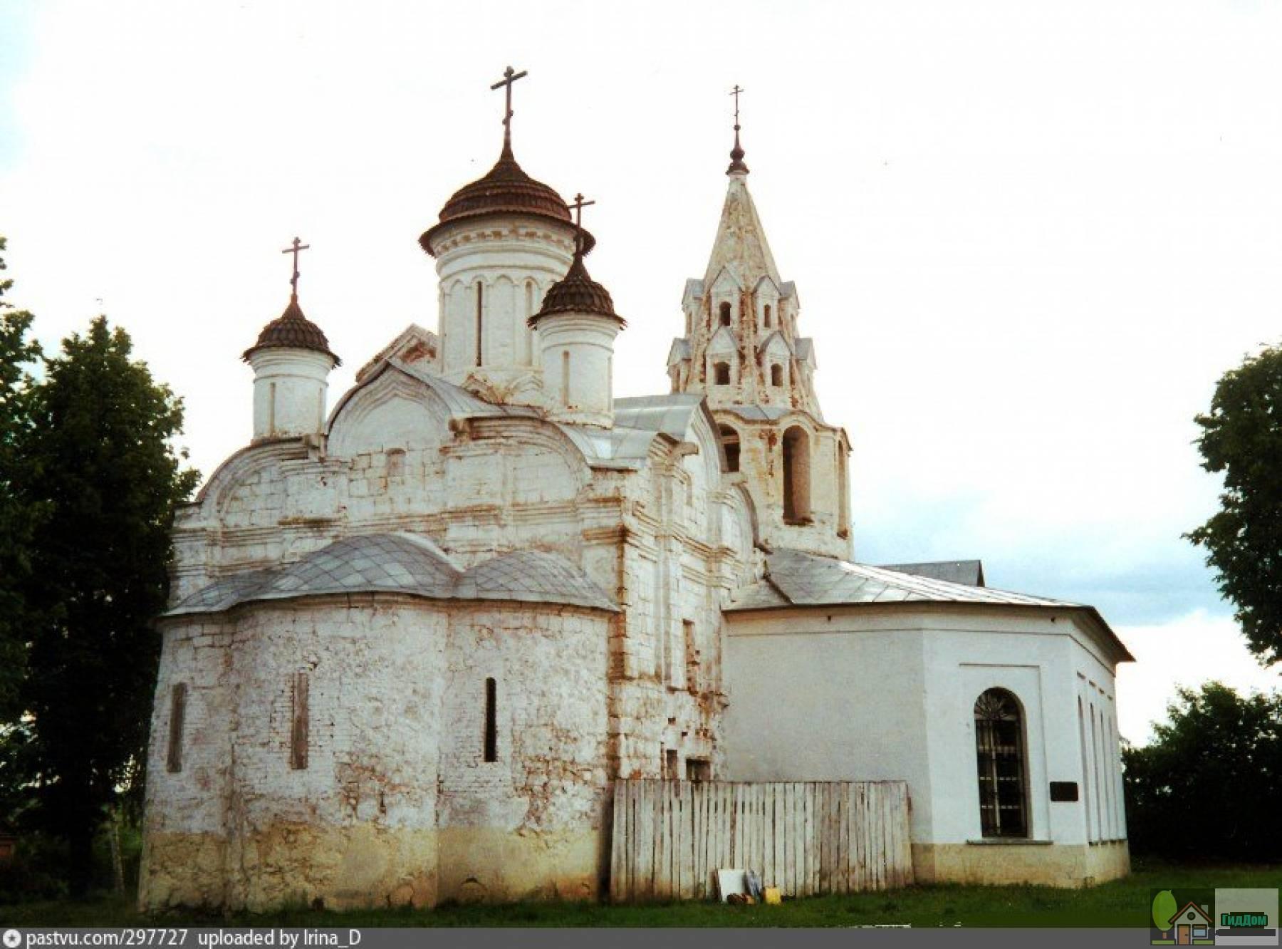 Церковь Зачатия Иоанна Предтечи на Городище в 1995 году