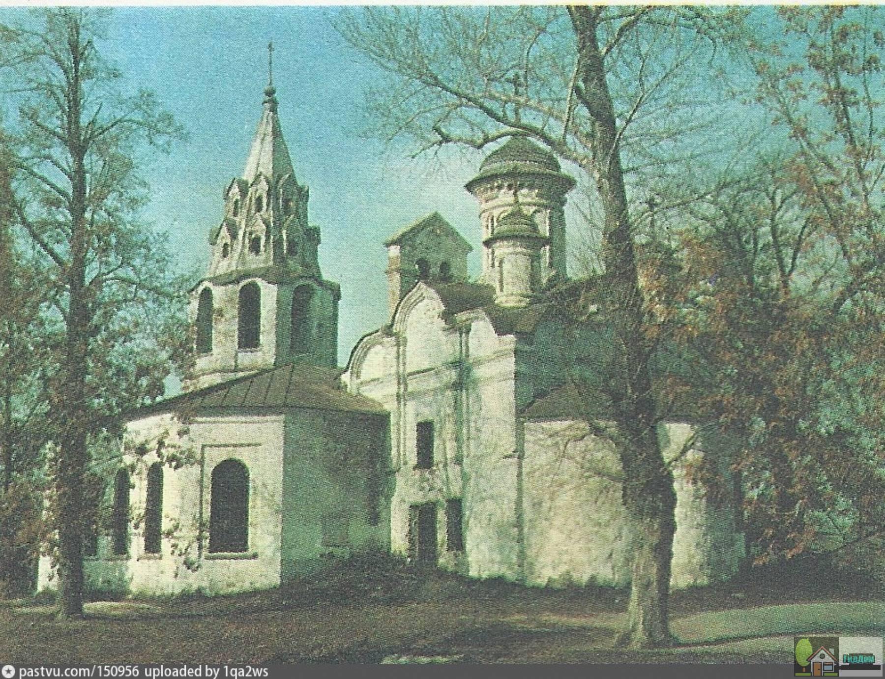 Церковь Зачатия Иоанна Предтечи на Городище в 1970-е году