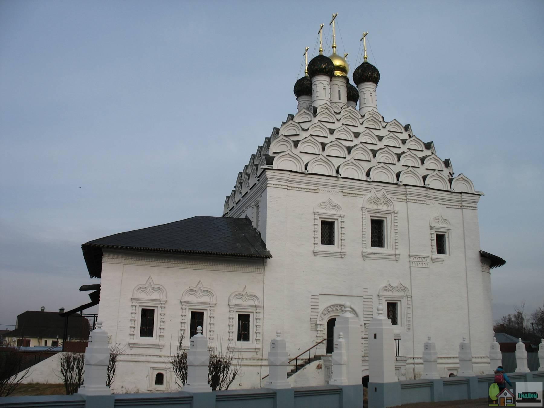 Храм Николы-на-Посаде. Снимок загружен из открытых источников. Автор неизвестен.