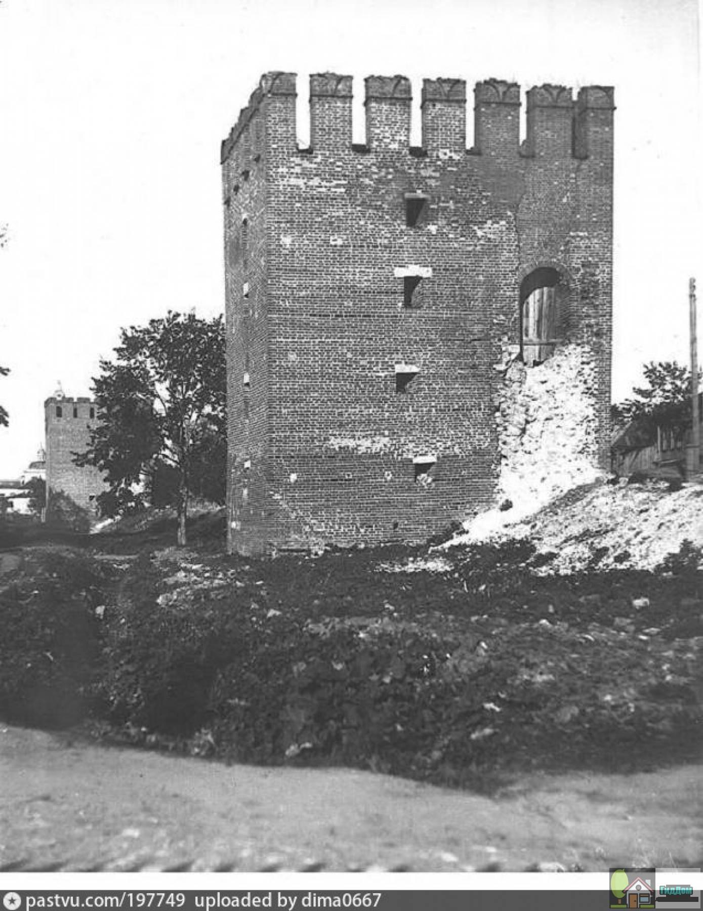 Спасская башня в 1900 годы