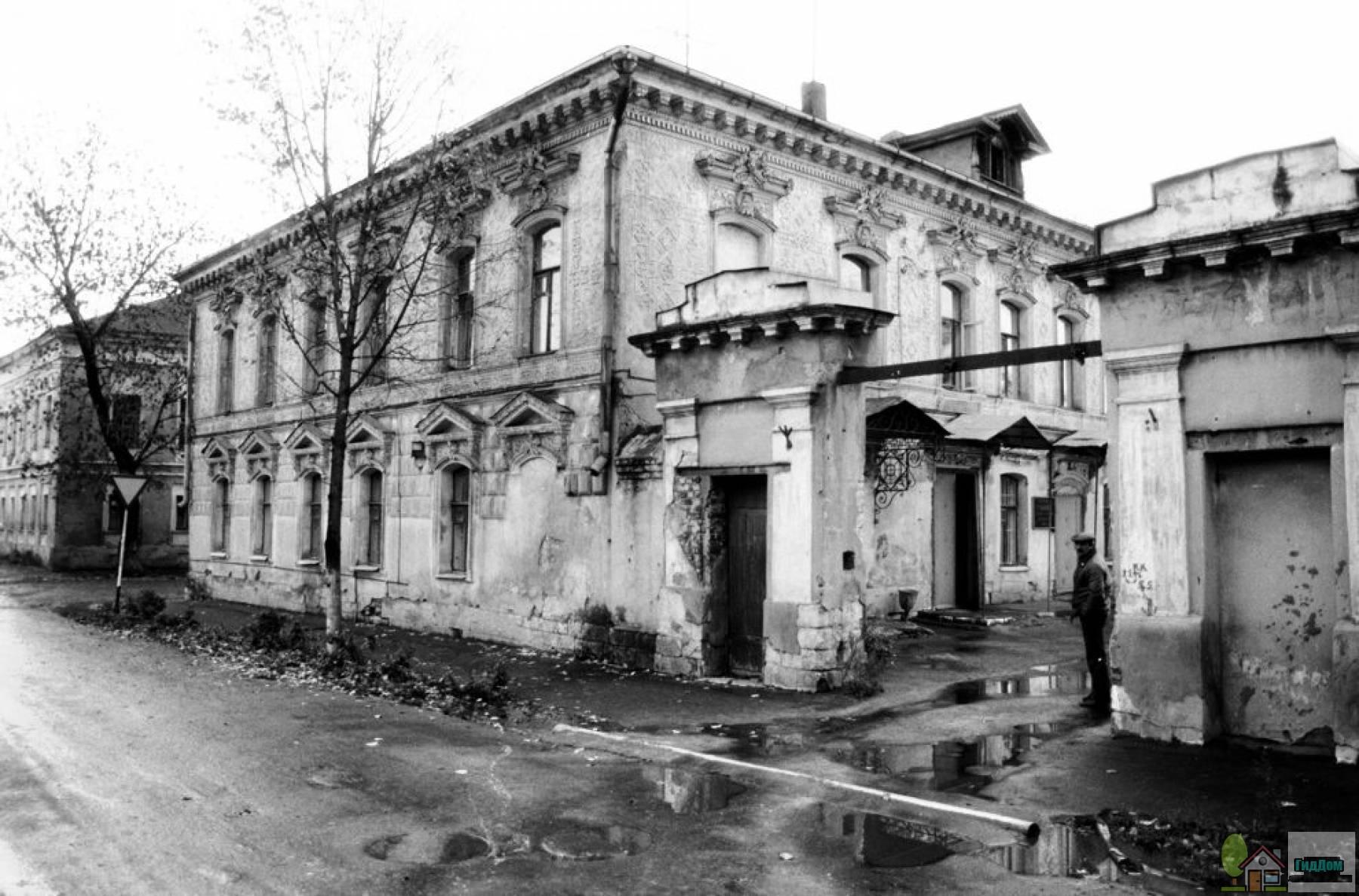 Усадьба Ротиных в 1992 году