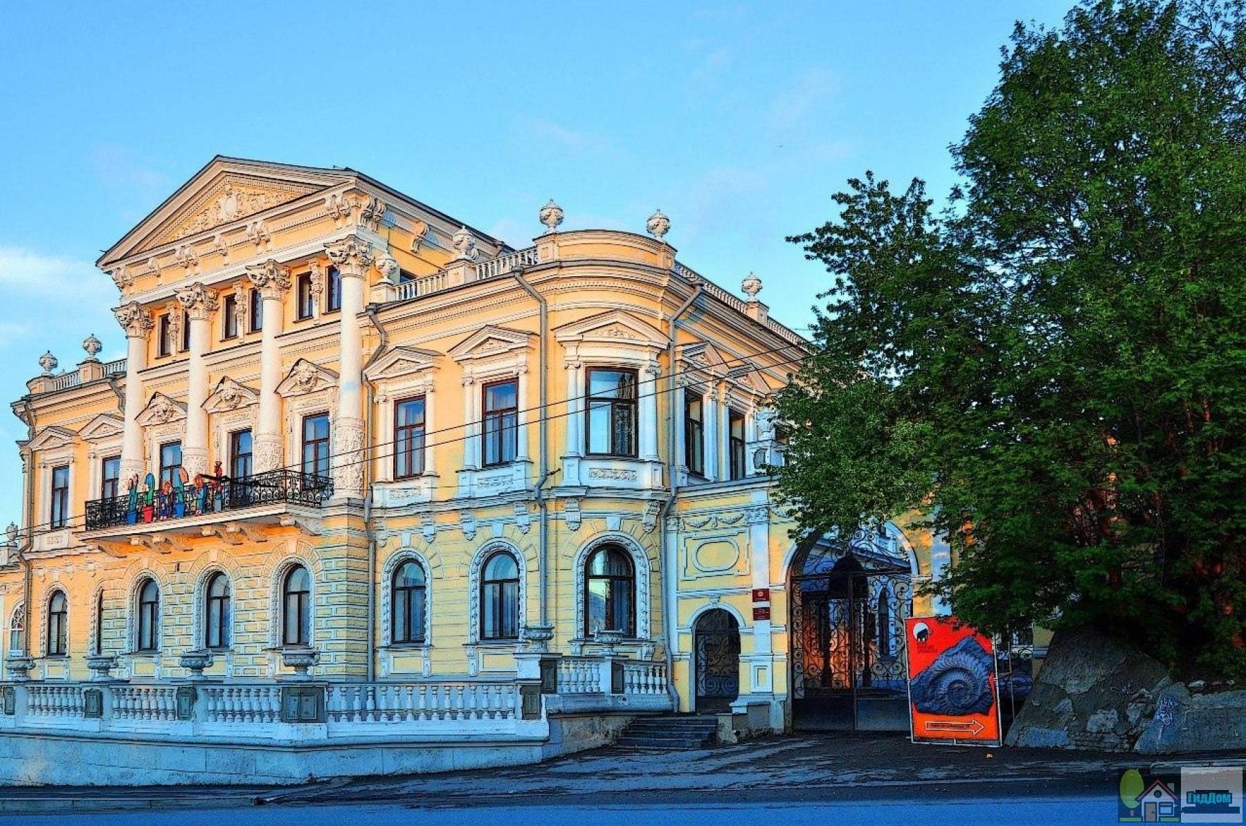 Дом пароходчика Мешкова
