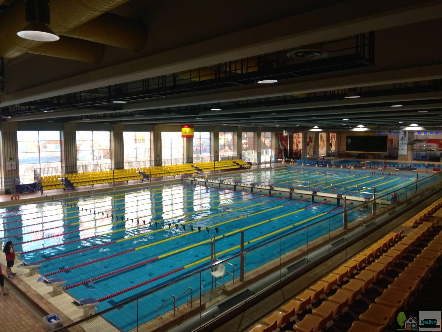 Плавательный центр М-86