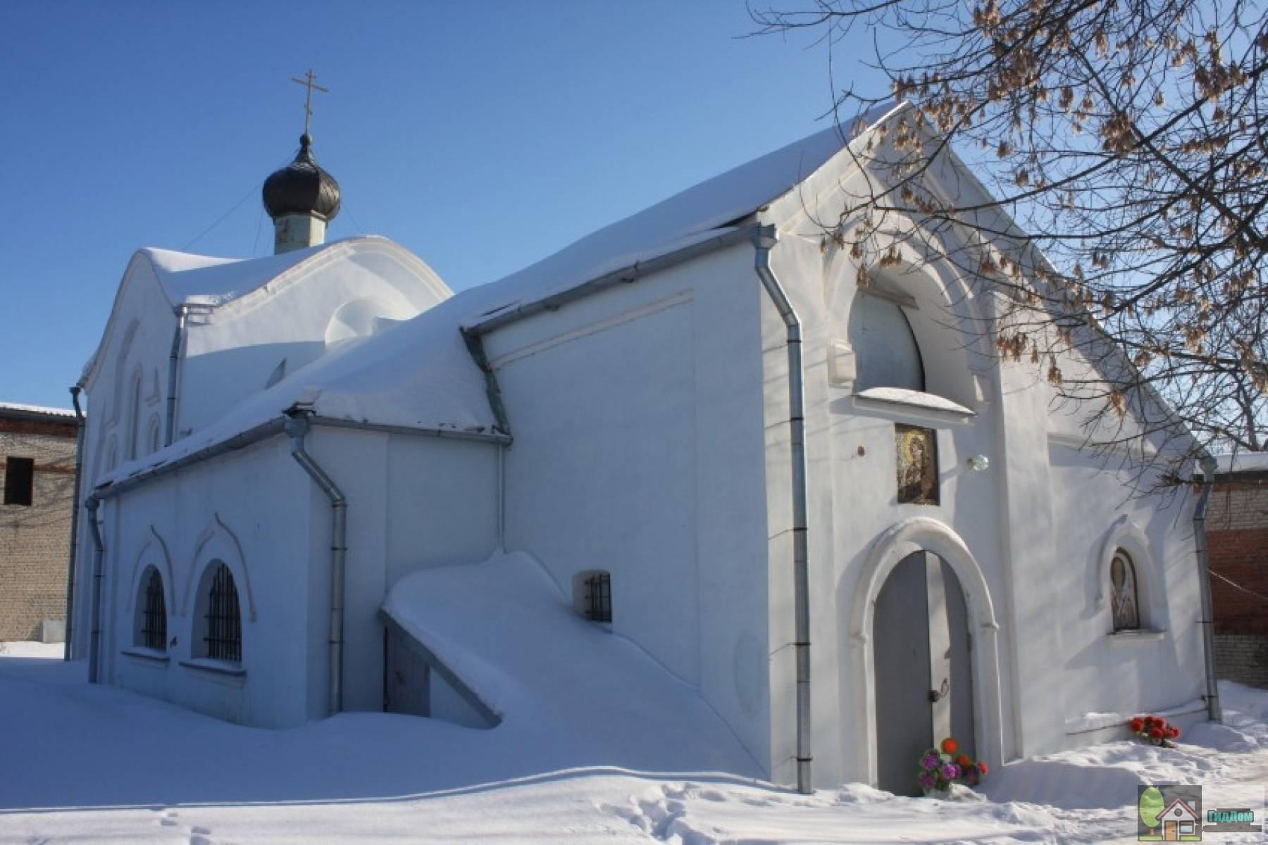 Церковь иконы Божией Матери «Нечаянная Радость» (за пределами монастырских стен)