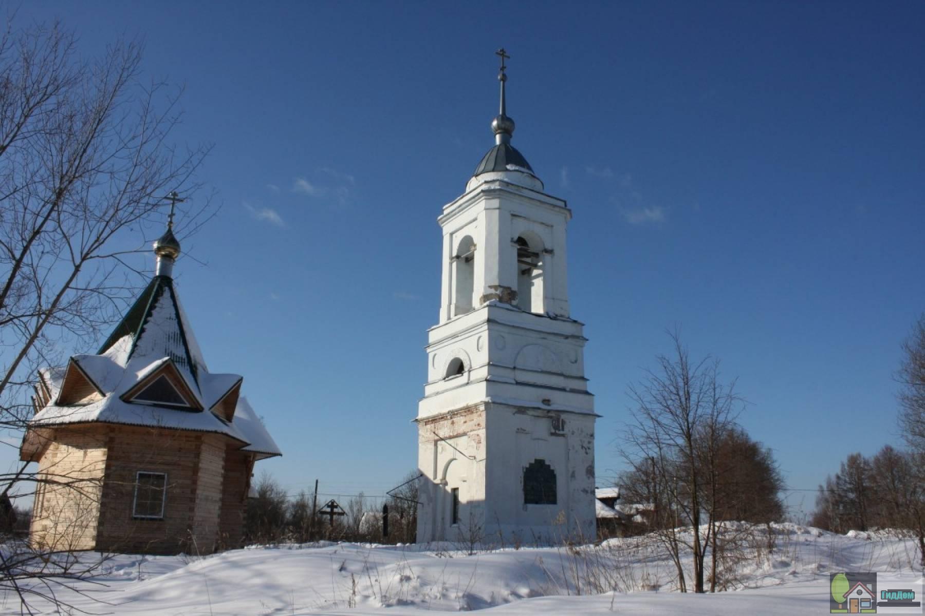 Колокольня церкви Рождества Пресвятой Богородицы