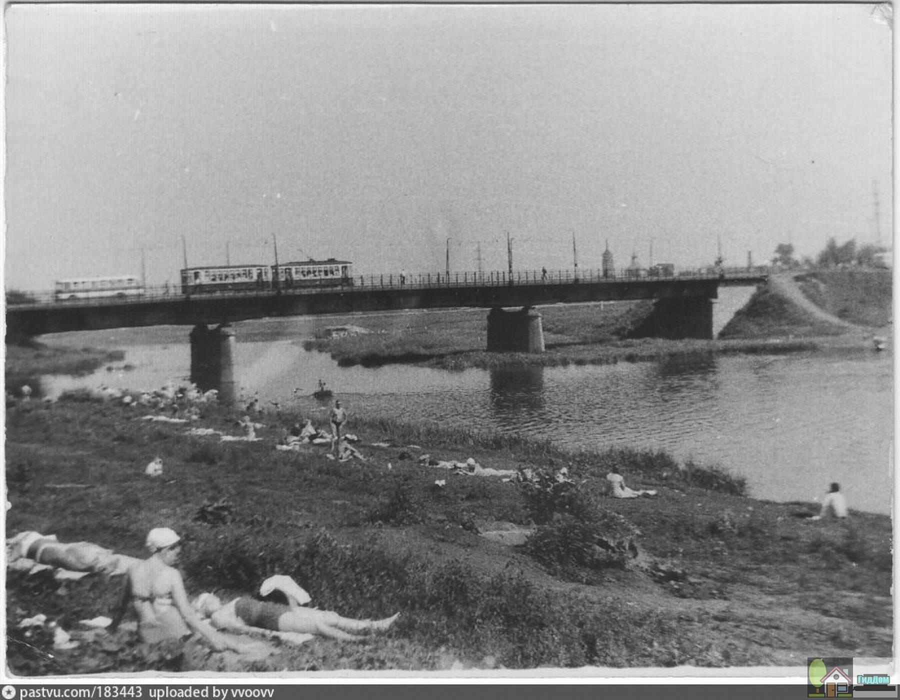 Чулковский мост в 1960-е