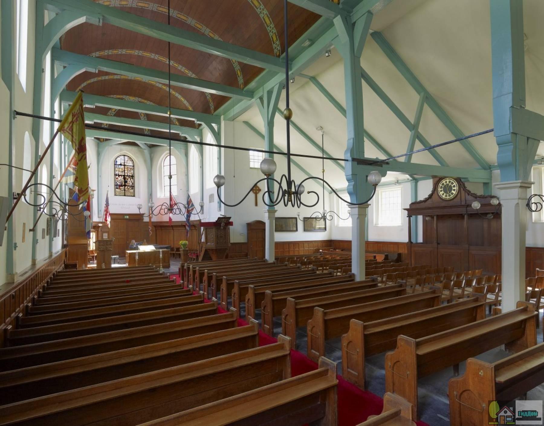 (Engelse presbyteriaanse kerk, oorspronkelijk begijnhofkapel)