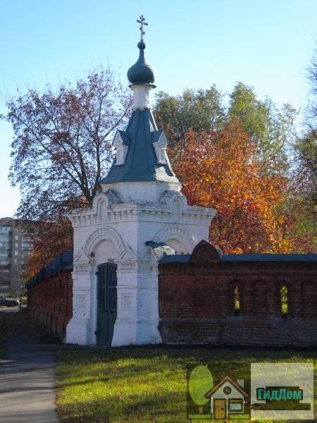 Часовня святого Николая в ограде цркви Петра и Павла.