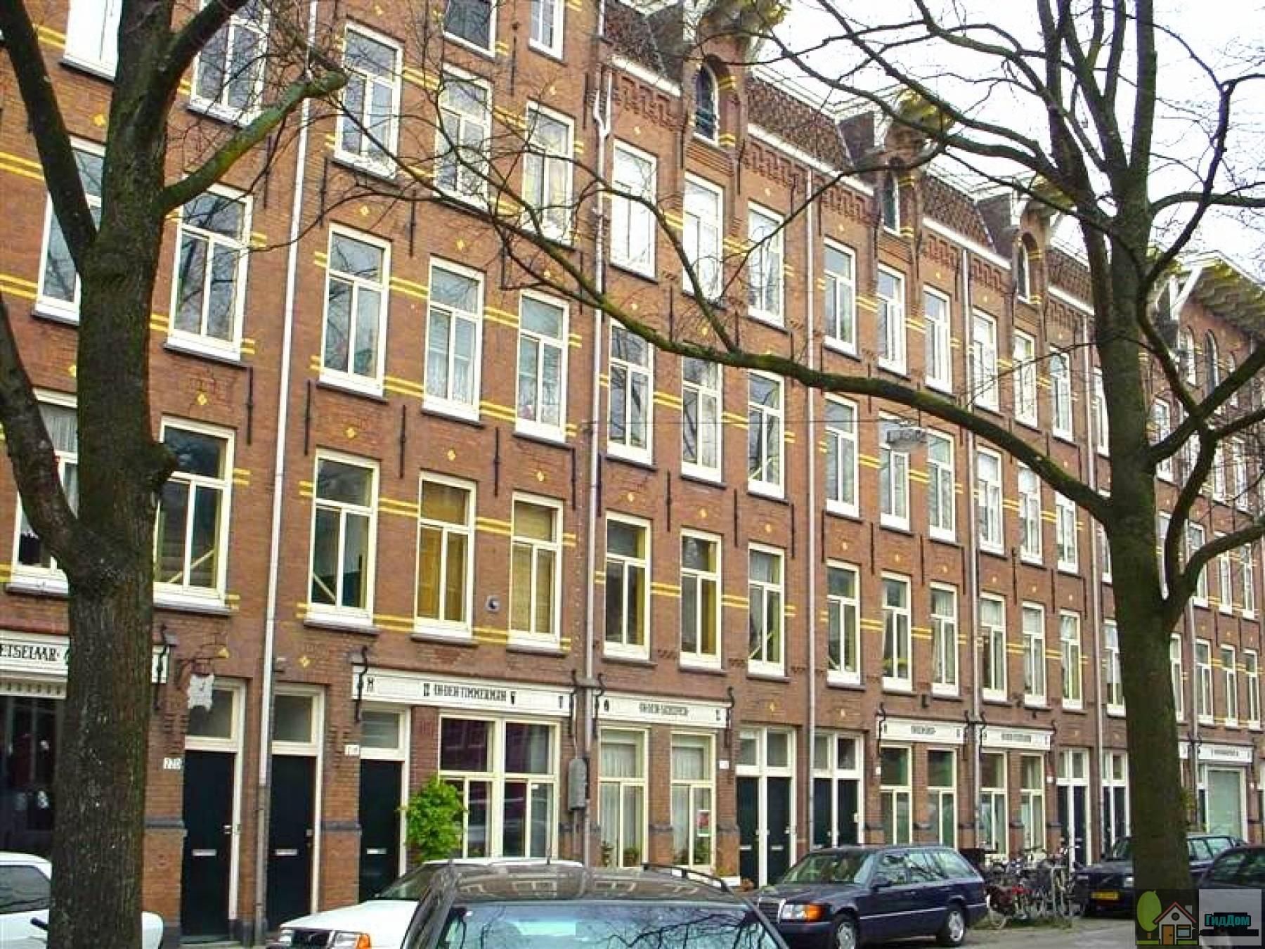 (Woningen/pakhuizen van de Bouwonderneming Jordaan NV. Tevens Goudsbloemstraat 125-139)