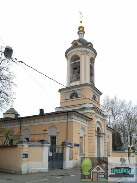 Церковь Иоанна Предтечи на Пресне