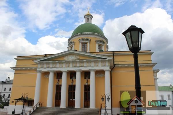 Церковь Воскресения Славущего в Даниловской слободе
