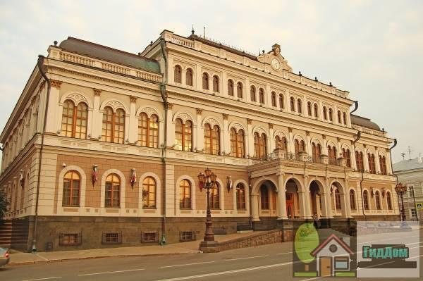 Здание дворянского собрания, здесь выступал поэт В.В. Маяковский. Загружен из открытых источников.