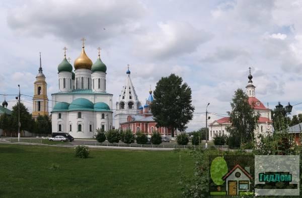 Ансамбль Коломенского кремля. Загружен из открытых источников.