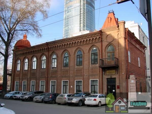 Дом купца Н.Г. Бабикова (торговый дом с мотивами неоготики)