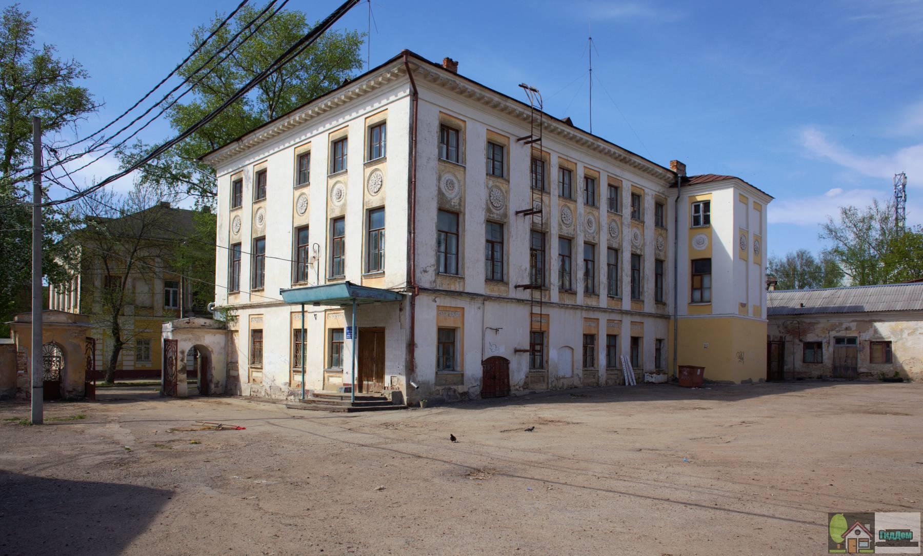 Главный дом (дом Яновского)