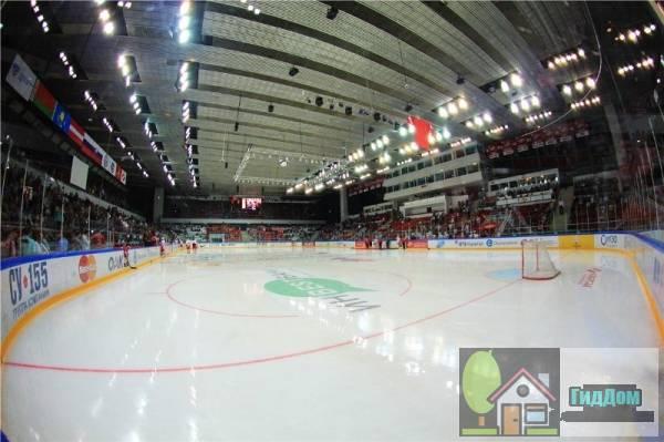 Дворец спорта Сокольники Файл загружен из открытых источников.