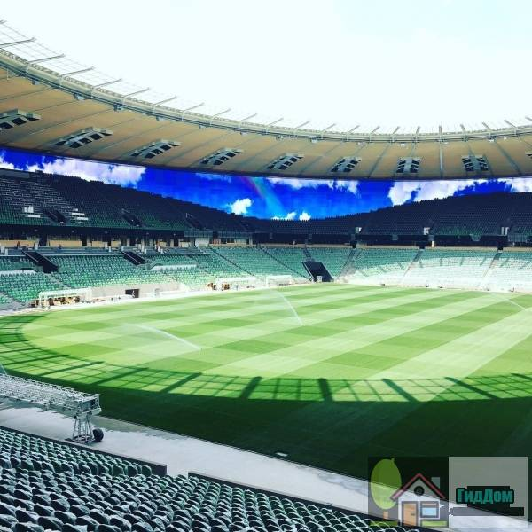 Стадион ФК «Краснодар» Файл загружен из открытых источников.
