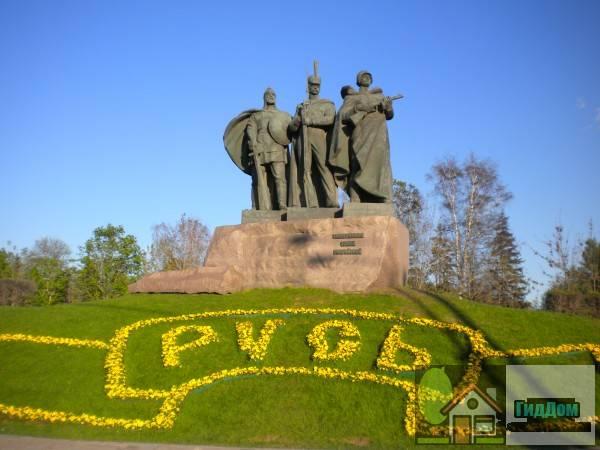Памятник русским воинам в Парке победы