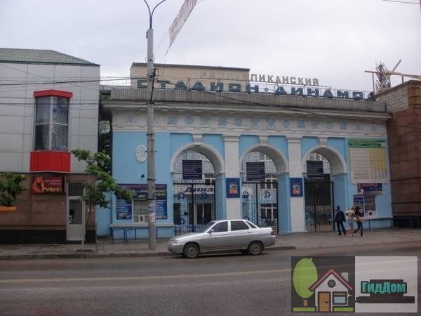 Стадион Динамо в Махачкале