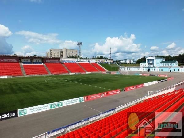Стадион «Текстильщик» в Иваново