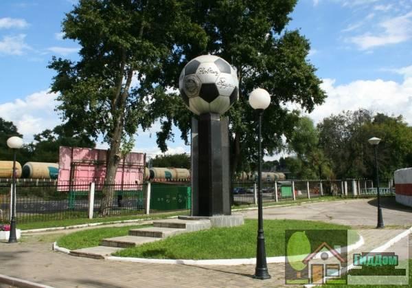 Стадион «Знамя Труда» в Орехово-Зуево