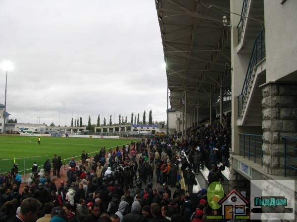 Стадион «Динамо» в Уфе Файл загружен из открытых источников.