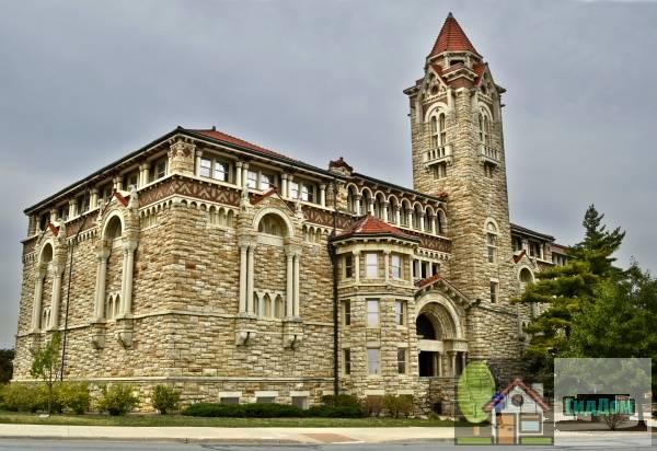 Зал Дайч Канзасского университета (Dyche Hall, University of Kansas)