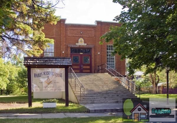 (Hailey Masonic Lodge)