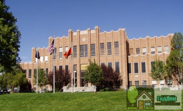 Административный корпус Айдахского университета (Idaho State University Administration Building)