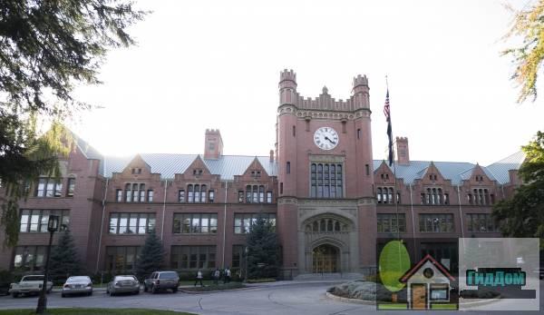 Административное здание, Айдахского университет (Administration Building, University of Idaho)