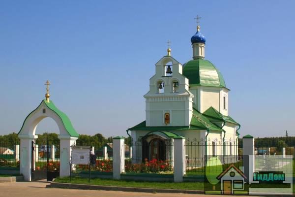 Храм Казанской иконы Божией Матери в Богдановке