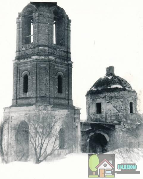 Церковь Рождества Христова в Апраксино