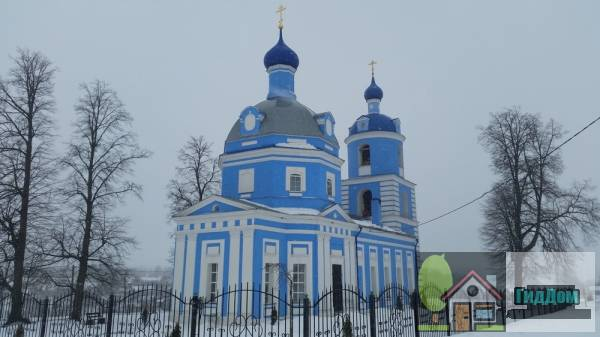 Церковь Рождества Пресвятой Богородицы в деревне Богородское, Коломенского района Файл загружен из открытых источников.