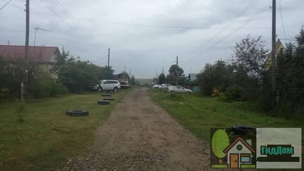 Дорога в деревне Верхнее Хорошово Файл загружен из открытых источников.