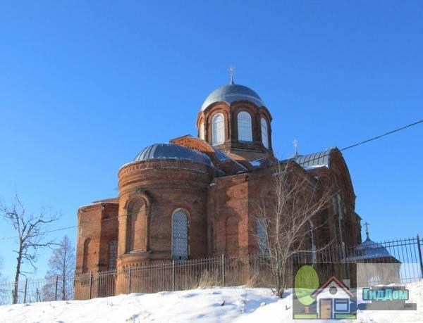 Никольская церковь в селе Горки, Коломенского района Файл загружен из открытых источников.