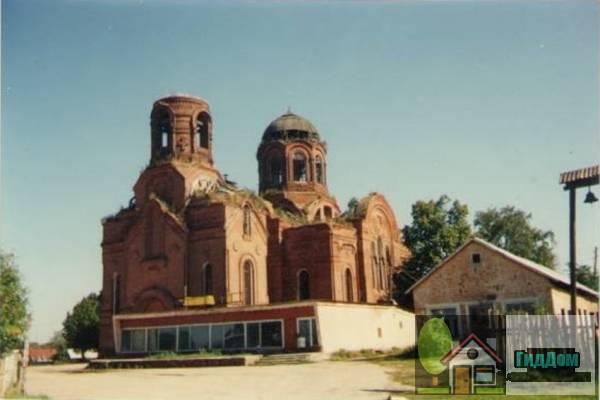 Никольская церковь в селе Горки, Коломенского района до восстановления Файл загружен из открытых источников.