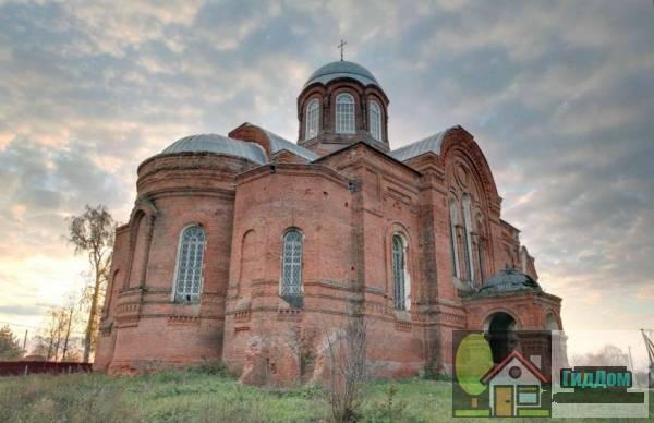 Никольская церковь в селе Горки, Коломенского района