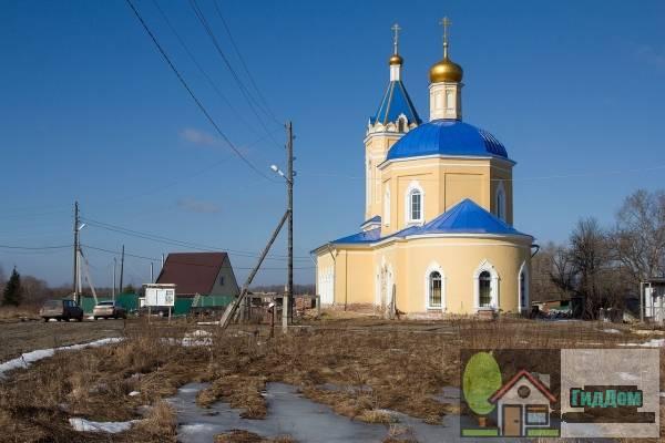 Церковь Казанской иконы Божией Матери в деревни Грайвороны Файл загружен из открытых источников.