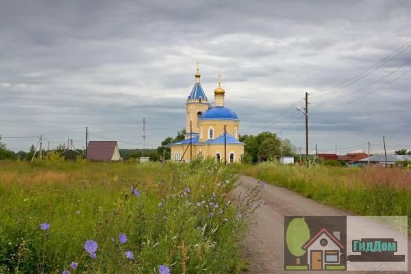 Церковь Казанской иконы Божией Матери в деревни Грайвороны