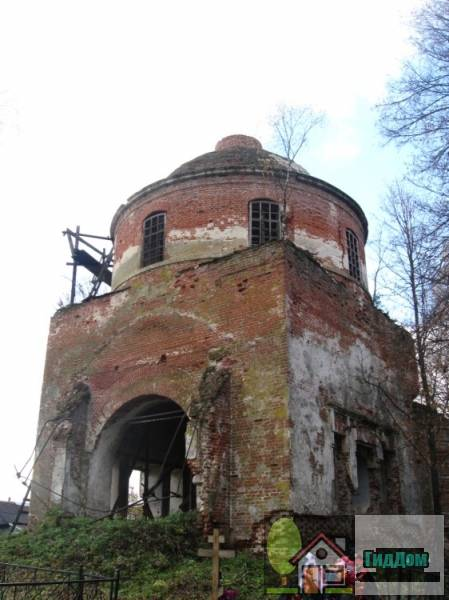 Церковь Николая Чудотворца в Дарищах