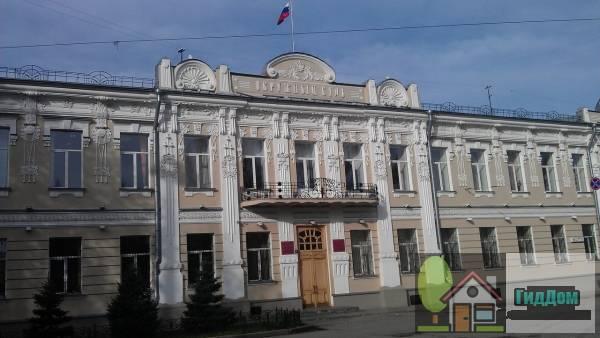 Здание окружного Суда, в котором в 1892-1893 гг. В.И. Ленин работал в качастве помошника присяжного поверенного
