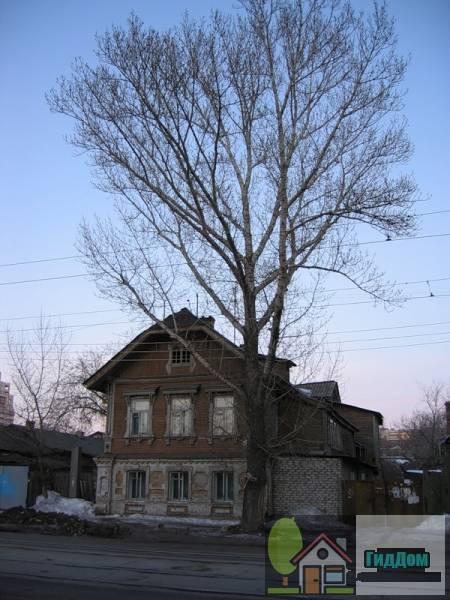 Дом, в котором находилась подпольная типография самарского комитета РСДРП(б)