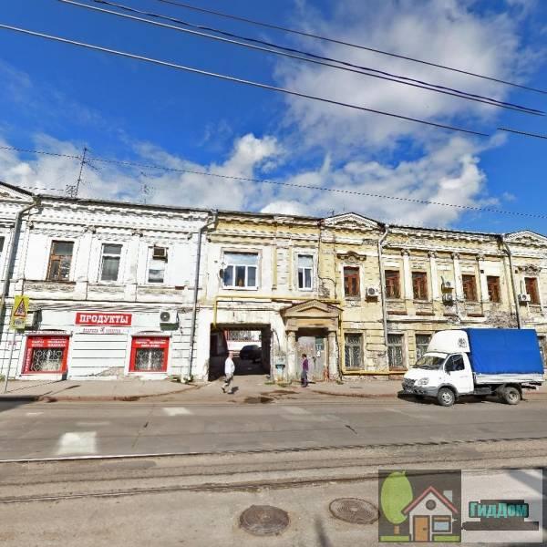 Здание, в котором находился клуб коммунистов и штаб обороны города от белочехов