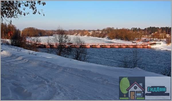 Понтонный черкизовский мост