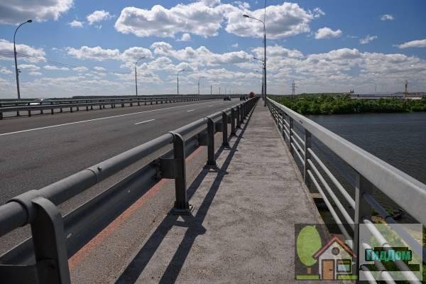 Мост через Оку на Коломенской окружной