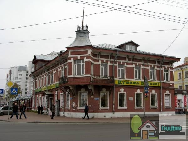 Дом, в котором жил и работал писатель А.П. Гайдар (дом Беляевского). Загружен из открытых источников.