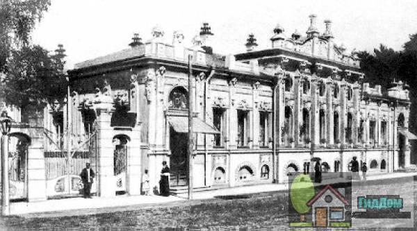 Дом С. М. Грибушина, 1913 г. Файл загружен из открытых источников.