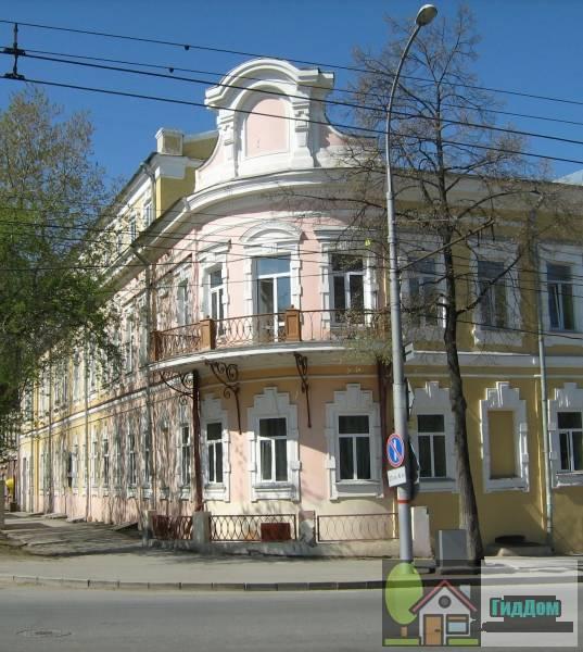 Здание городской думы (Дом Смышляева) Файл загружен из открытых источников.