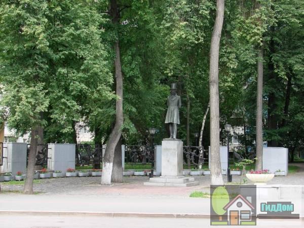 Памятник Пушкину Файл загружен из открытых источников.